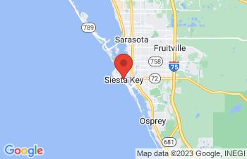 Map of Siesta Key