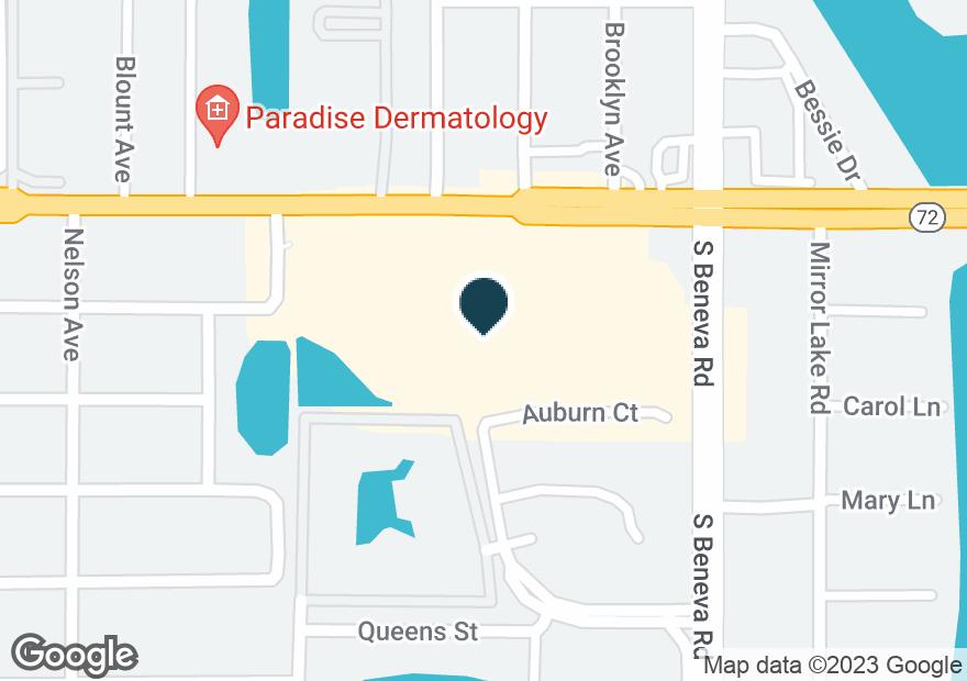 Google Map of3506 CLARK RD