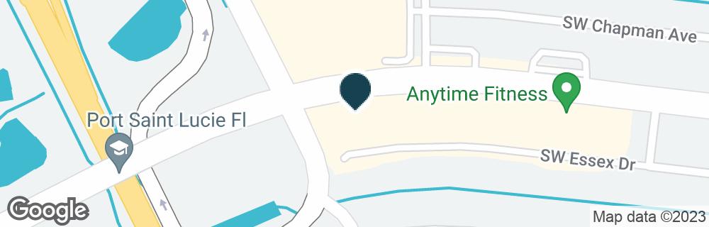 Google Map of280 SW PORT ST LUCIE BLVD