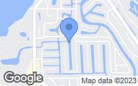 Map of Siesta Key, FL