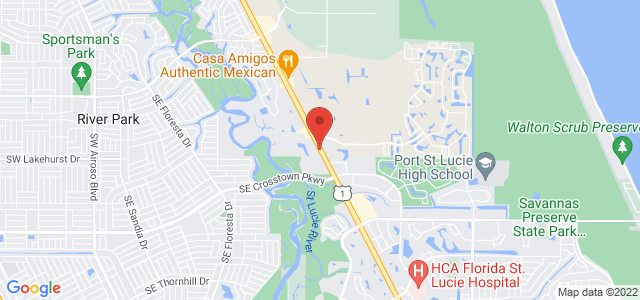 St Lucie Florist And Boutique Map