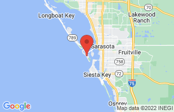 Map of Sarasota