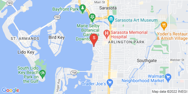 1525 Mallard Ln Sarasota Florida 34239 locatior map