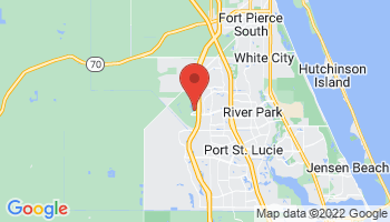 Map of Port St Lucie