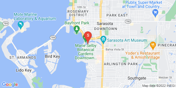 1585 Bay Point Dr Sarasota Florida 34236 locatior map
