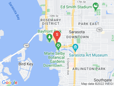605 S Gulfstream Ave #5N Sarasota Florida 34236 locatior map