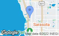 Map of Sarasota, FL