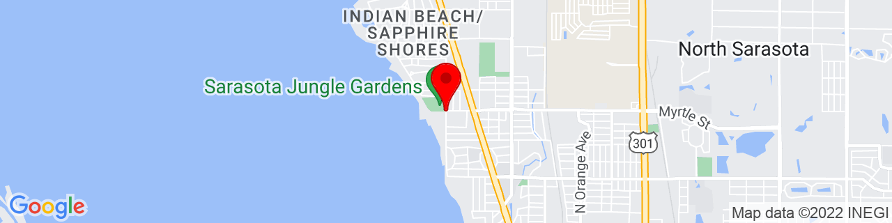 Google Map of 27.36705277777778, -82.55501388888888