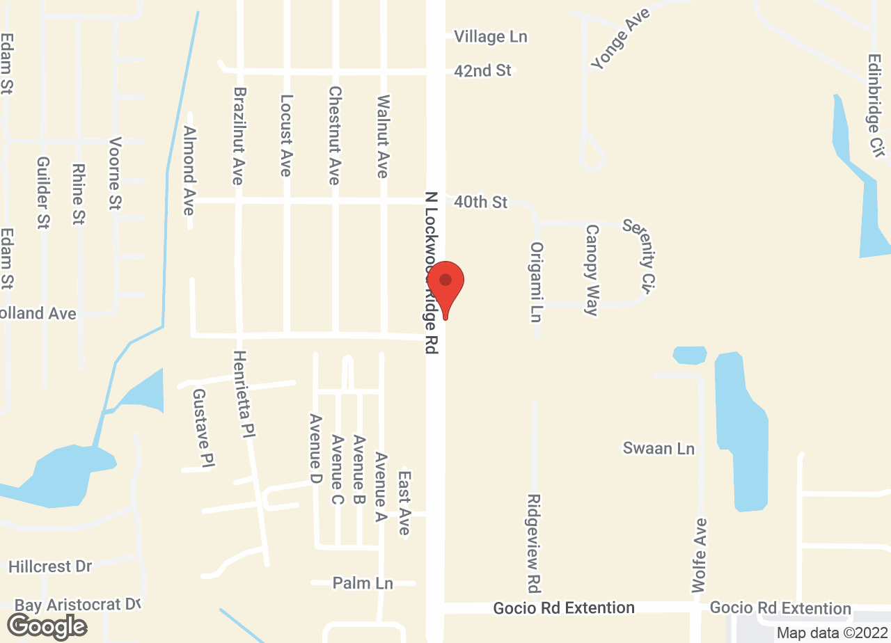 Google Map of VCA Lockwood Ridge Animal Hospital