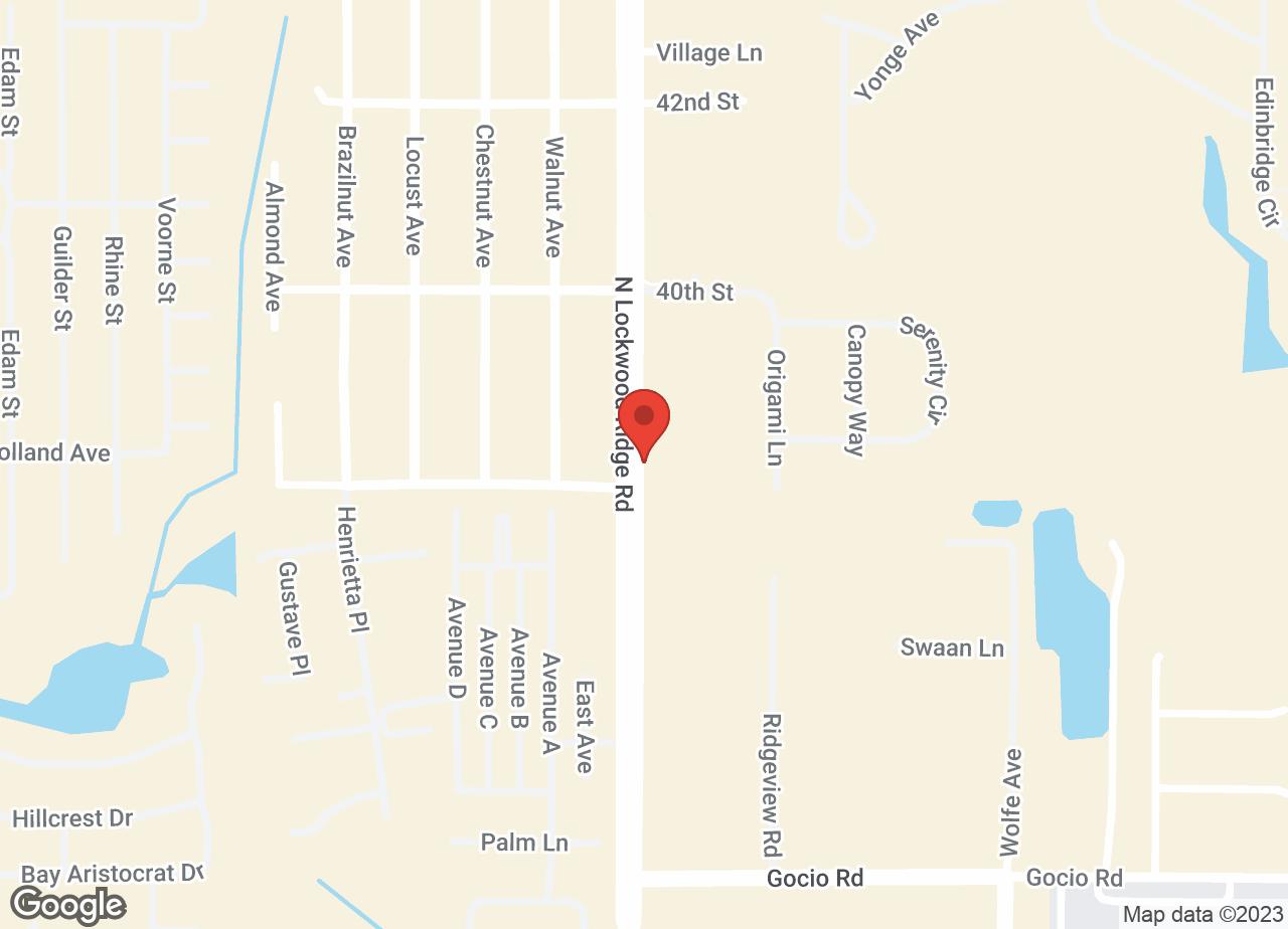 Google Map of VCA Lockwood Ridge Animal Hospital