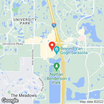 Map of Ann Taylor at 140 University Town Center Drive, Sarasota, FL 34243