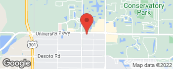 Map of 2856 University Pkwy in Sarasota