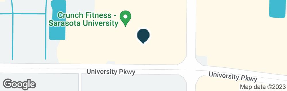 Google Map of3155 UNIVERSITY PKWY