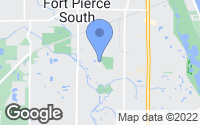 Map of Fort Pierce, FL