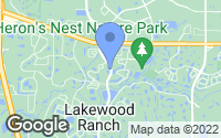 Map of Lakewood Ranch, FL