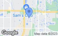Map of Bradenton, FL