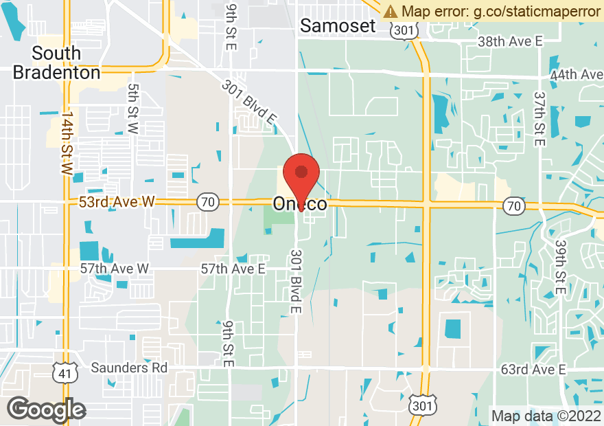 Google Map of 1504 53RD AVE E