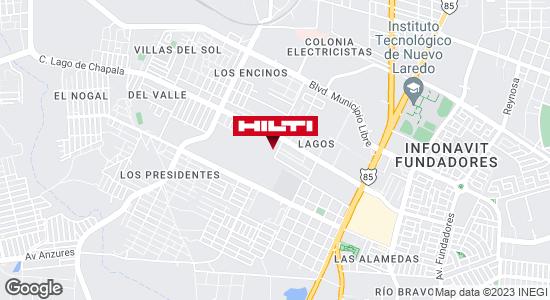 Obtener indicaciones para Ocurre Paqex Nuevo Laredo (Lagos)