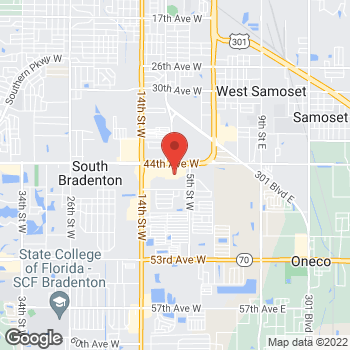 Map of Bed Bath & Beyond at 825 Cortez Road West, Bradenton, FL 34207