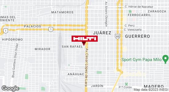Obtener indicaciones para Ocurre Paqex Nuevo Laredo (Juarez)