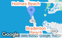 Map of Bradenton Beach, FL