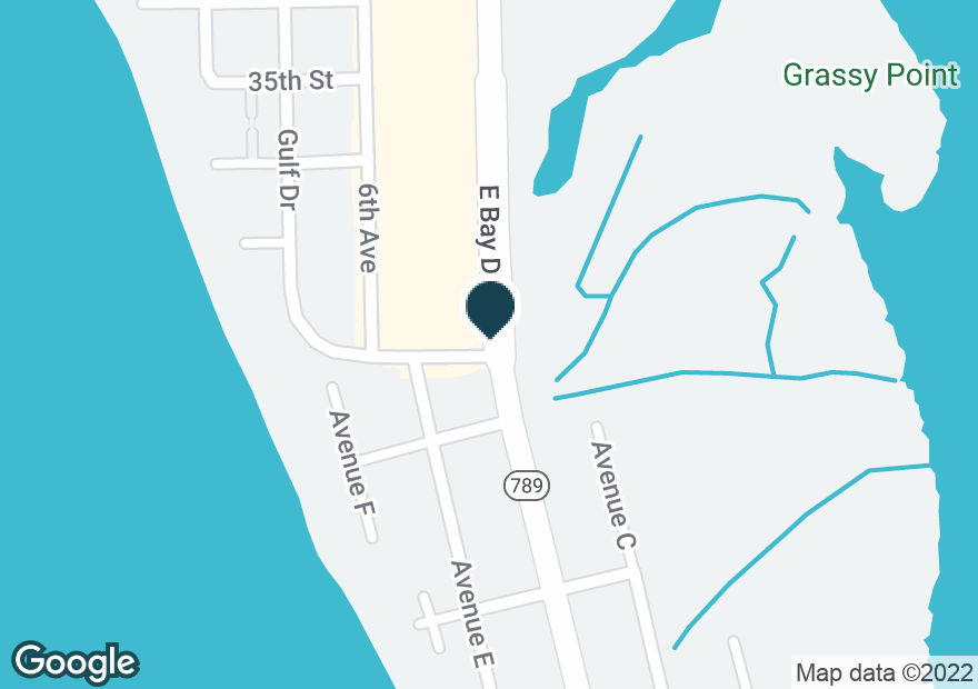 Google Map of3200 E BAY DR