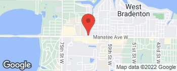 Map of 6404 Manatee Ave W in Bradenton