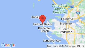 Map of Anna Maria Island Area