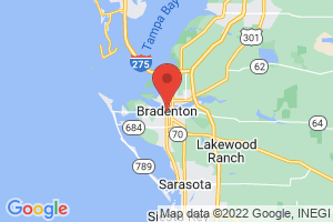 Map of Bradenton