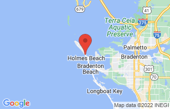Map of Anna Maria Island Area