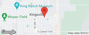 Map of 1313 E King Ave in Kingsville