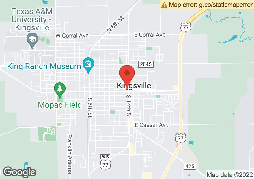 Google Map of 922 E KING AVE
