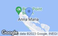 Map of Anna Maria, FL