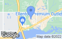 Map of Ellenton, FL