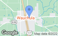 Map of Wauchula, FL