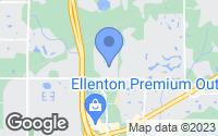 Map of Ellenton, FL