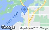 Map of Palmetto, FL
