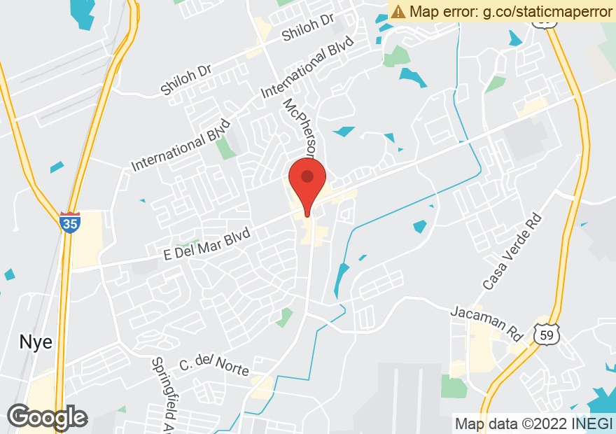 Google Map of 7610 MCPHERSON RD