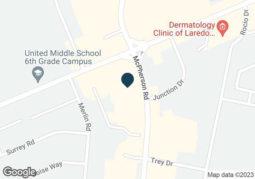 Google Map of7610 MCPHERSON RD