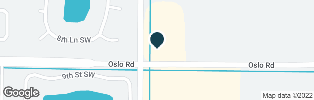Google Map of850 43RD AVE SW