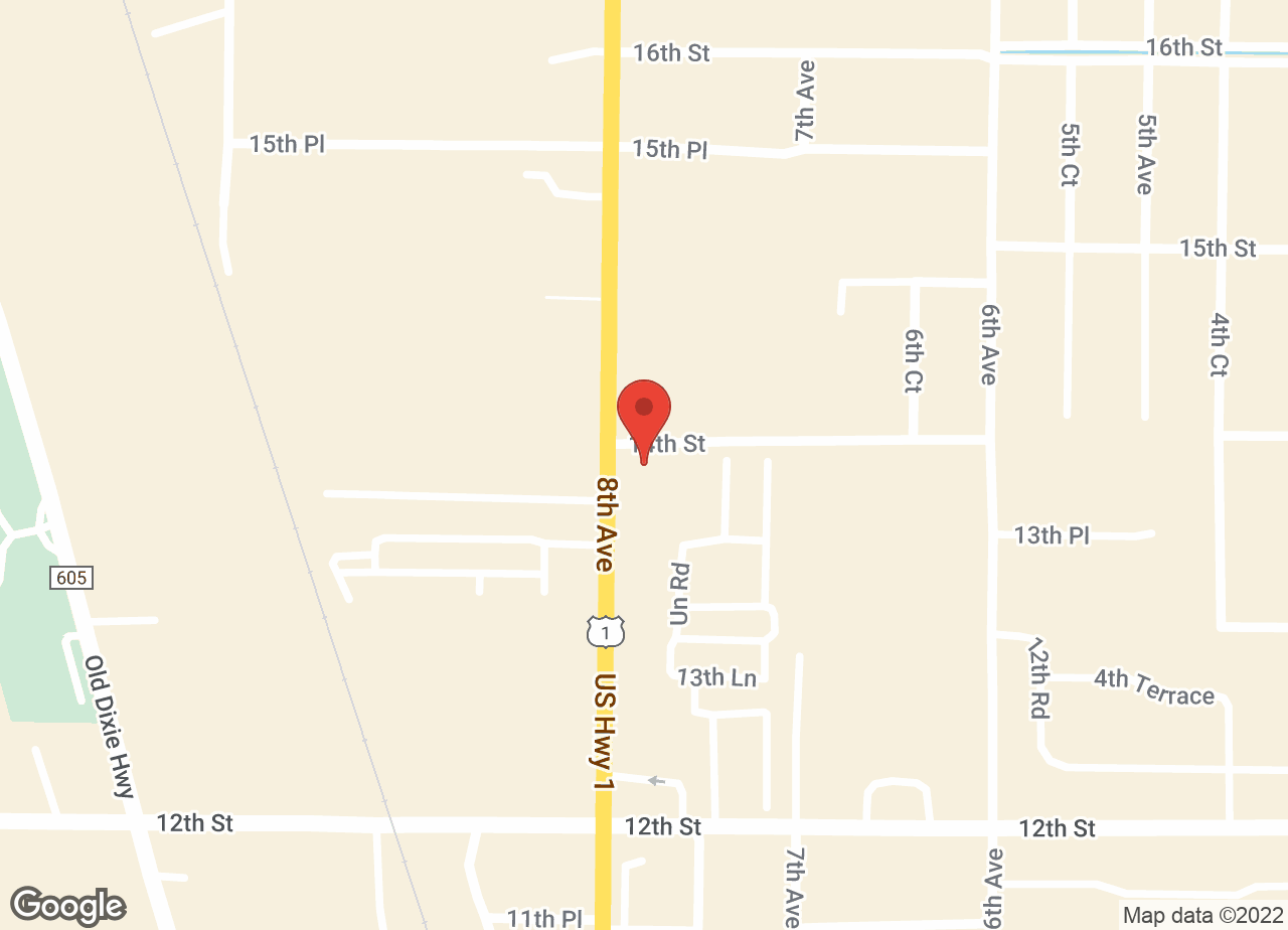 Google Map of VCA Florida Veterinary League