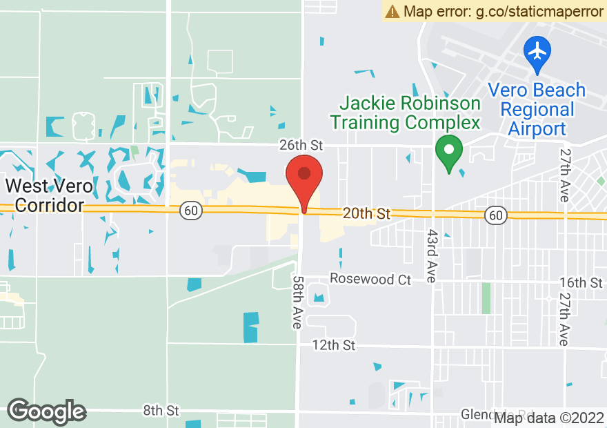 Google Map of 5755 20TH ST