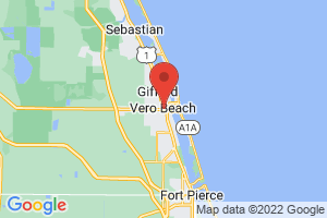 Map of Vero Beach