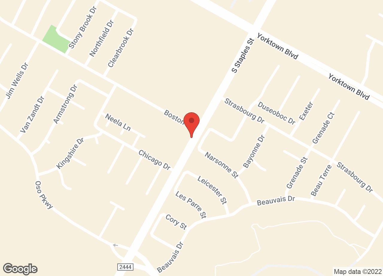 Google Map of VCA Oso Creek Animal Hospital & Emergency Center