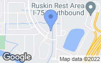 Map of Ruskin, FL