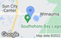 Map of Wimauma, FL
