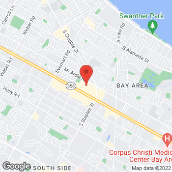 Map of Michael Kors at 5488 S Padre Island Drive, Corpus Christi, TX 78411