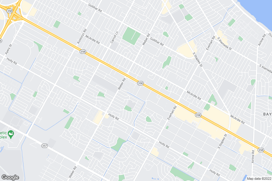Distance Between Padre Island And Downtown