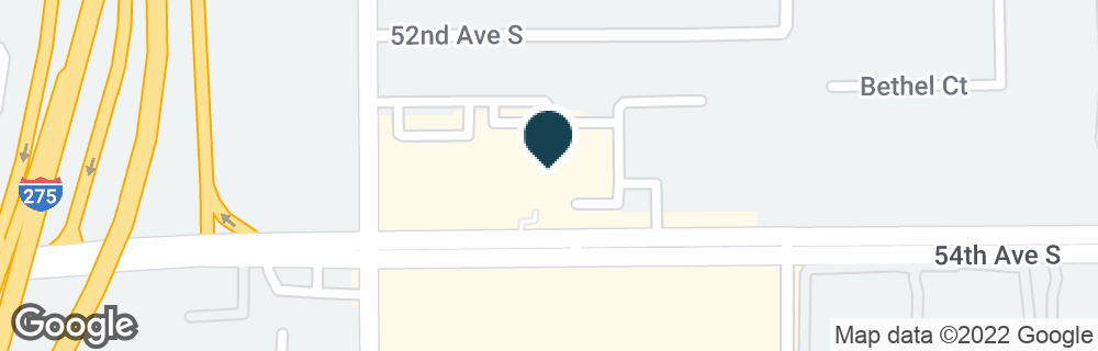 Google Map of3077 54TH AVE S