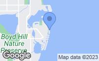 Map of St. Petersburg, FL